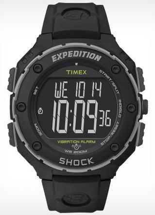 Timex T49950XL Vibration Alarm with bespoke strap.