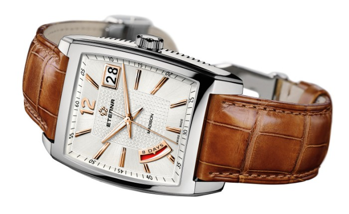The Eterna Madison 8 day hand wound Gents.
