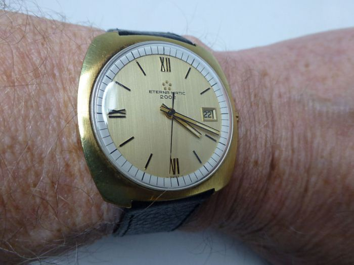 As good as it gets on the wrist! Makes some modern watches look bland!