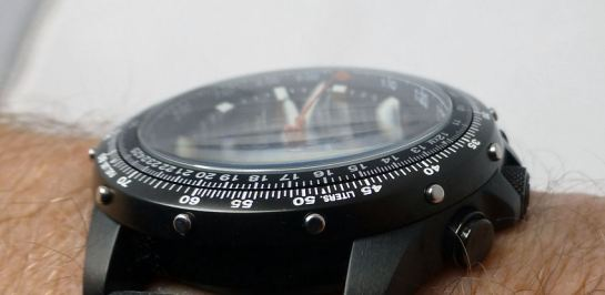Classic Citizen Skyhawk  - note the domed crystal and bezel