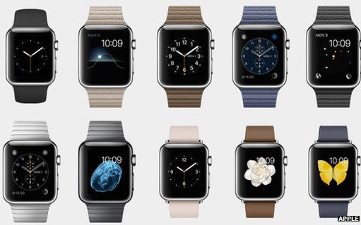 Apple Smart Watch - in 38 versions!