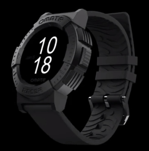 Omate Racer SmartWatch - Sapphire touch screen