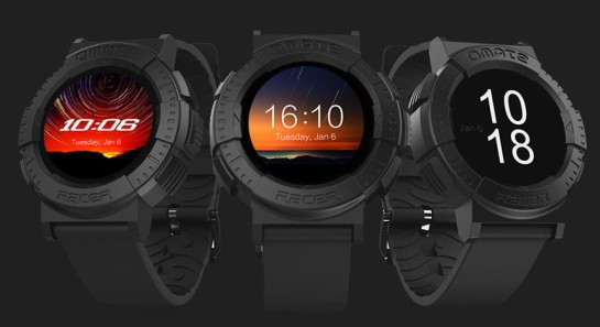 "The Omate ""Racer - a new Smartwatch  from April 2015"