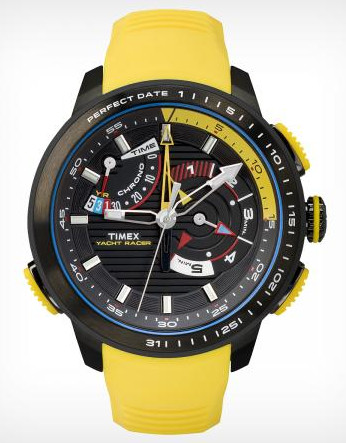 The Timex Intelligent Yacht Racer - a color triumph!