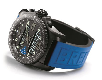 The Breitling B55 connected.