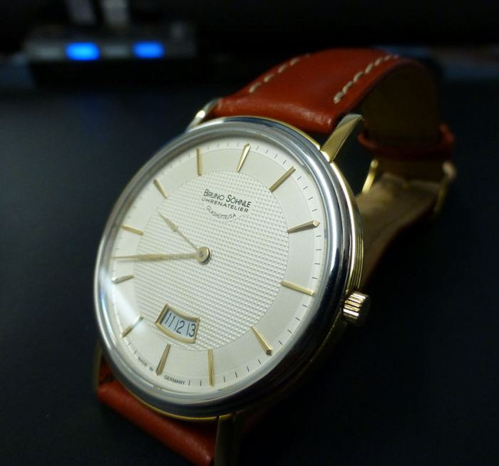 Bruno Sohnle Sonate for Gents - with replacement Roasroi strap