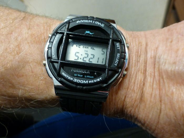 1980's Old digital Diver - 300 meters, been around and still here