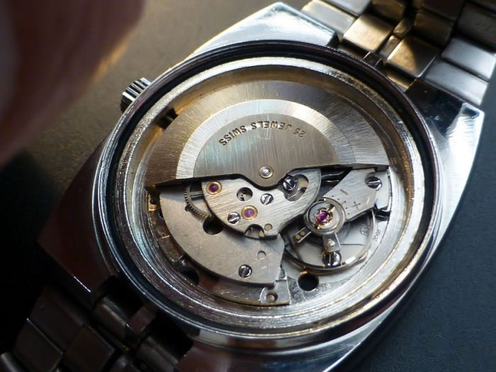 Marked Anton Schild (AS) 2066 automatic with 46 hrs power reserve.