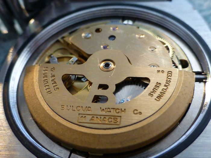 Bulova Automatic 11ANACB with the B signed rotor in pristine condition.