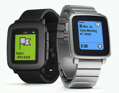 Pebble Time and Pebble Steel - Smarter updates at last.