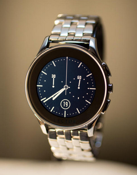 Vector Luna Smart watch with classic dial layout