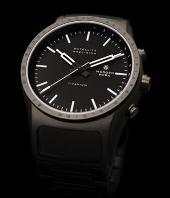 Morgnwerk Precision Mk1. GPS controlled watch