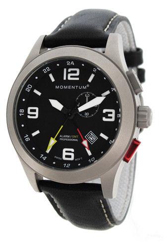 Momentum Vortech GMT, Alarm model in Titanium.
