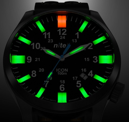 Flat tube Tritium at it's very best.
