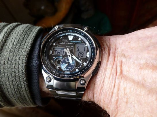 Affordable value Casio World Time Chronograph