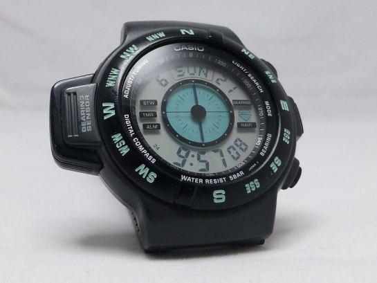 Casio  CPW-100 digital compass 1993