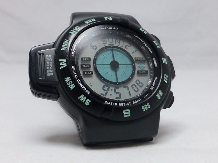 Casio CPW-100 digital compass 1993