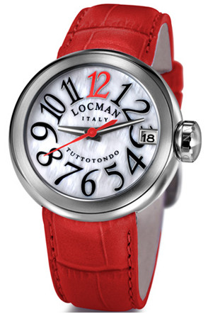 The Locman Ladies Tuttotondo (Frank Muller design) MOP dial.