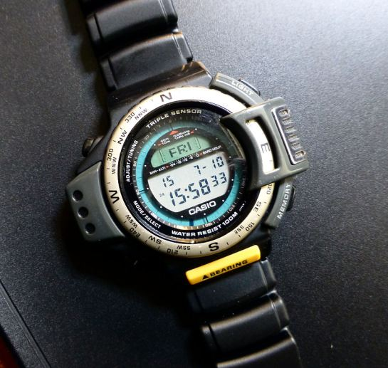 Great Casio Triple Sensor ATC1200 - before it's time!