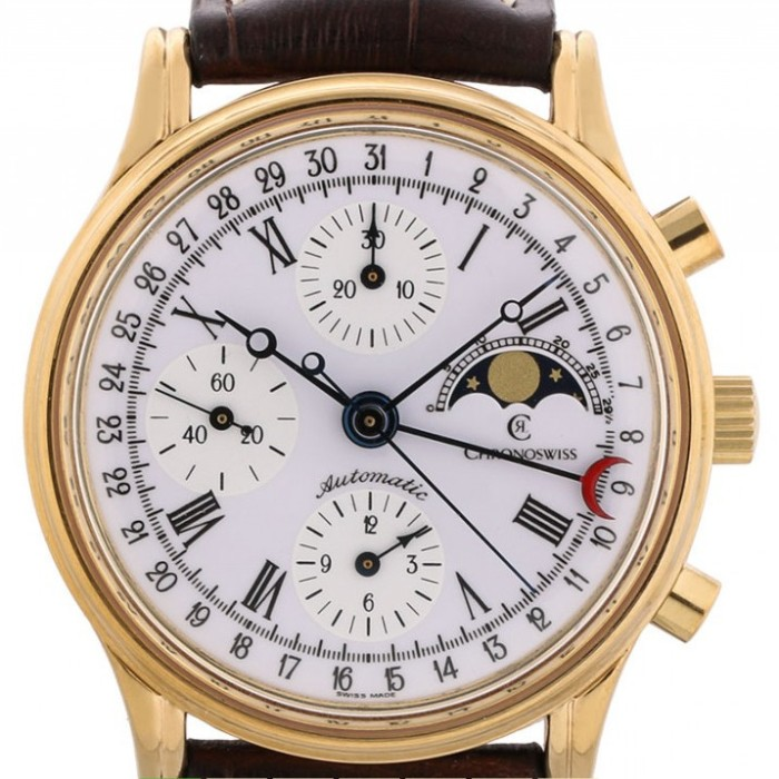 Classic MoonPhase Chronoswiss dial.