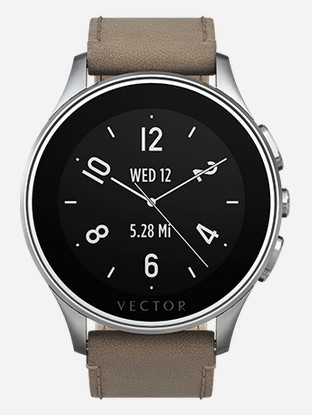 Vector Luna - the discrete Smart watch