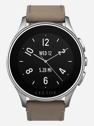 Vector Luna - the discrete Smart watch