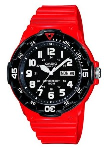 Same again but with Red Resin strap.  Also available in black/green combination.