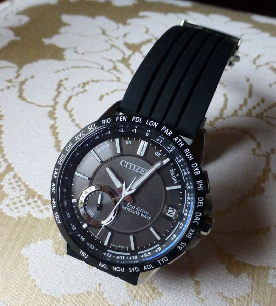 Citizen cc3005-85E with silicon deployment strap