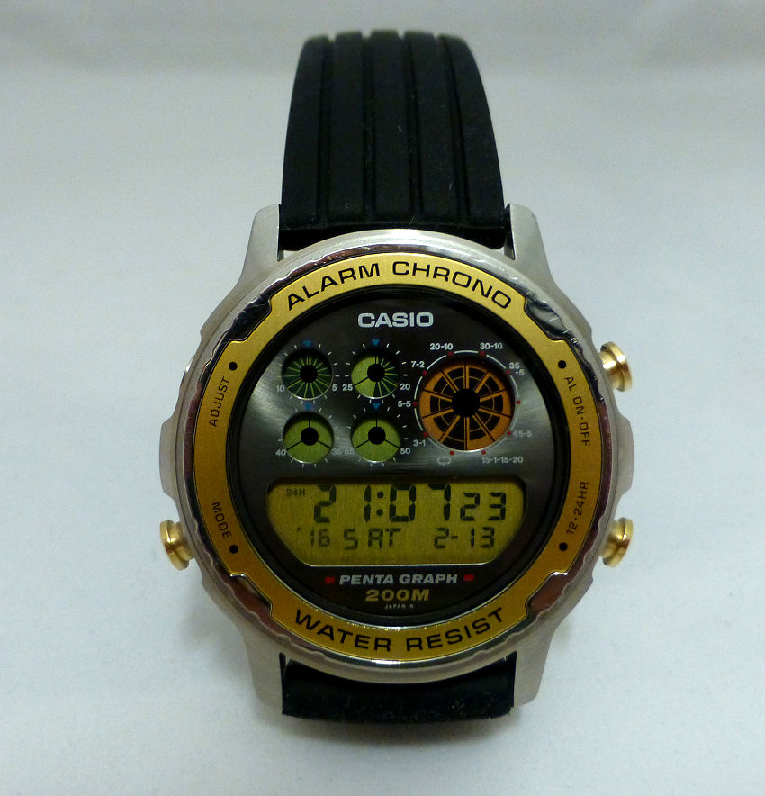 casio digital watch instructions