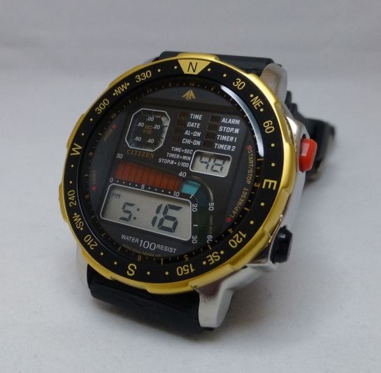 Citizen D060 Windsurfer - 1989 vintage