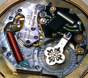 A quartz watch Patek style
