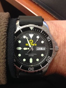 Diver Day Date Quartz - simple and effective.