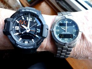 One big mother 0 compared to my Breitling!