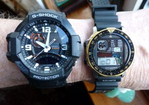 Compared to my old Citizen D060 Windsurfer