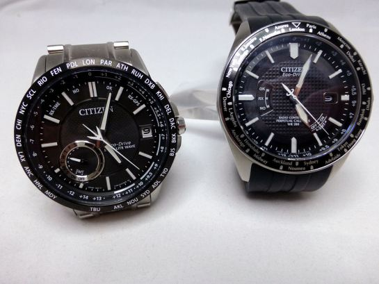 Citizen CC3005-85E Satellite and the Citizen AT