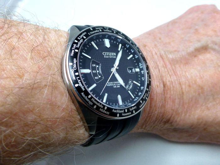 Citizen AT known also as Perpetual Calendar model - with Radio Control