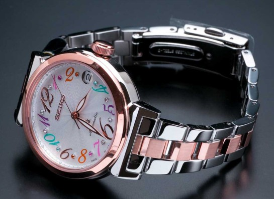 Seiko Lukia ladies Automatic - with Swarovski elements