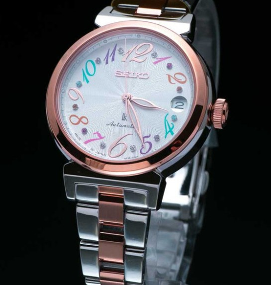 Elegant, colorful and affordable - the Seiko Lukia