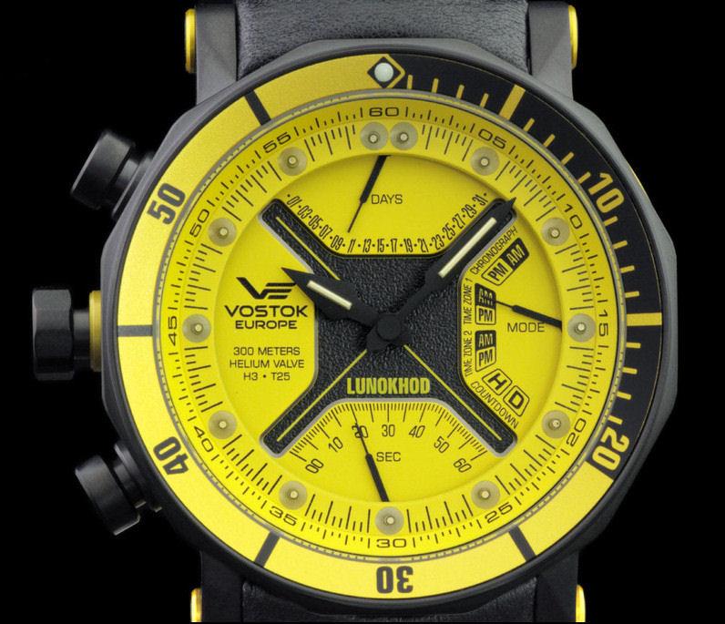 6205205 Vostok-Europe Lunokhod II LE with Tritium 5020ffe7e862