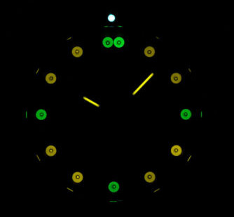 6205205 Tritium Light Source - view in darkness.