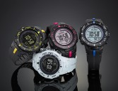 Casio Pro Trek PRG-300-1A2 series ABC models in eye catching colros.
