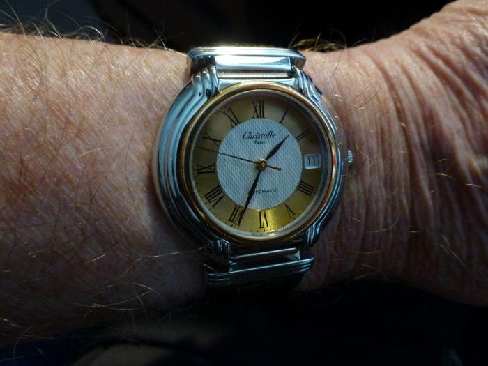 Christofle Swiss 21 jewel Automatic