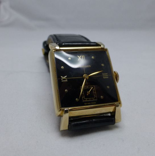 10K Gold Filled Longines Dress Gents - 1949/50 vintage.