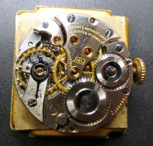 Longines 10L manual movement