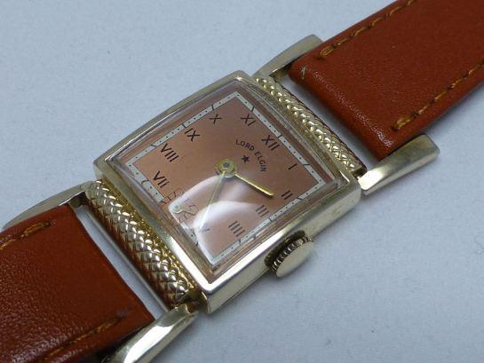 lord elgin 1947/50 21 juwel gegliederte gants uhr