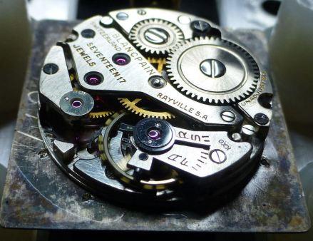 1940s Blancpain signed 17 jewel - perhaps Anton Schild movement.