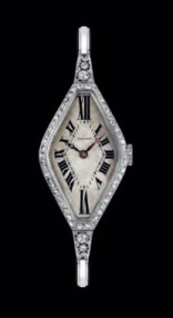"1930's Vulcain with diamond decoration - from the Vulcain ""book""."