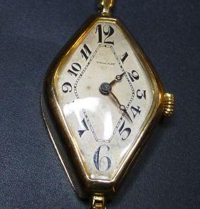 Vulcain 18K Gold 1920's Ladies model