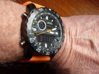 Infantry Chrono-Pilot on the wrist