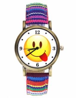 Emoticon watch